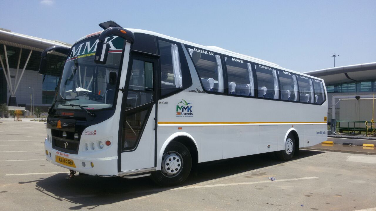 Bus rental services in bangalore